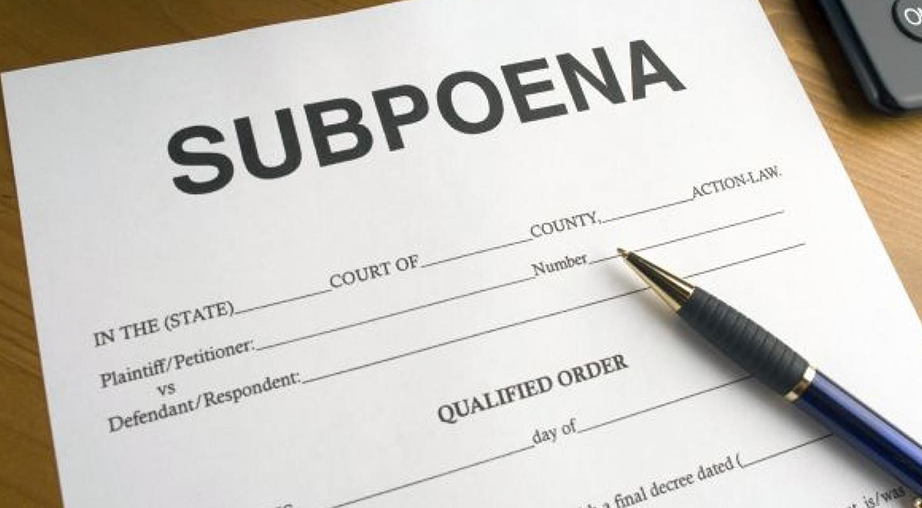 questions about subpoena