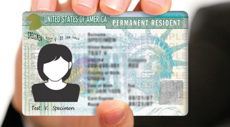 USCIS status types of immigration green card